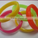 silicone rubber wristband and baseball silicone bracelets