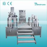 Guangzhou Shangyu supplier electric heating bottom homogenizing cosmetic emulsifying equipment