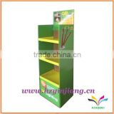 China manufacturer durable creative floor standing cardboard electronic equipment display stand
