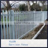 Made In China High Quality Galvanized And Powder Coated 1.8m High Panel Residential Pressed Spears Hot Sale Iron Fence