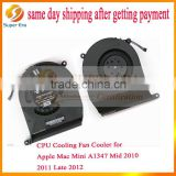 original laptop fan 610-0069 for apple mini a1347 2010 2011 2012 laptop CPU cooling fan (SUPER ERA)