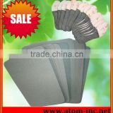 Cheapest Selling paper insole and shank board for shoes making from China Atom shoes material ltd.