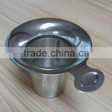 High quality tea leaf strainer, stainless steel wire mesh tea infuser strainer, stainless steel strainer industrial