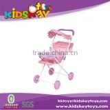 HOT!!!Iron Material Doll Stroller Toy baby trolley for Kids