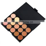 new high quality Cosmetic Product Professional 15 Color Concealer Face Makeup base Palettes