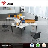 Modern Metal frame office workstation for 6 person