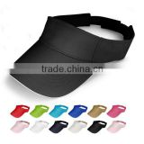 hook and loop fastener Closure Fashion Custom Different Color Sun Visor Hat                                                                         Quality Choice