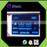 custom negative intelligent cleaner lcd display , digit character segment transparent lcd panel