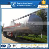 2016 Brand New 3 axle stainless steel sesame oil semi-trailer sale price