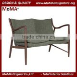 MA-MD101 Italian Style Sofa Set Living Room Furniture / Executive Hotel Living Room Sofa / Simple Solid Wood Best