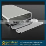 "aluminum enclosure box Case -4.33""*2.60""*0.63""(L*W*H) aluminum pedal box"