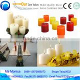 High efficient and best selling semi automatic candle making machine