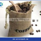 Wholesale burlap fabric jute bags for cocoa with custom logo