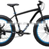 "Good quality fat tire front full suspension in bike 26"" fatbike frame alloy made in china"