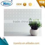 Transparent Bathroom PVC Window Privacy Film