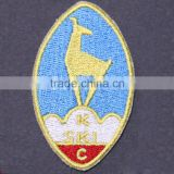 Personalized woven patch back neck labels