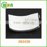 Thin curve battery 382438 lithium-ion polymer battery 3.7V 400mAh rechargeable li-ion battery for wearable Smart bracelet watch