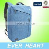 Laptop Briefcase Backpack, Water Resistant Convertible Laptop Canvas Briefcase Backpack