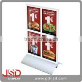 Alibaba Express Hot Sale Plastic Menu Holder, Acrylic Menu Holder, Table Stand Menu Holder
