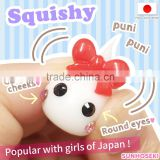 Original and Unique wholesale kawaii cabochons Hoppe-chan figurines at reasonable prices