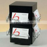 Manufacture wholesale acrylic brochure holder with business card pocket