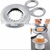 Stainless steel egg opener / egg cutter / egg scissors