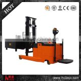 1.2T 4.5m passed CE AC battery powered standing new material handling full electric reach stacker for sale