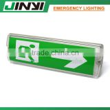 Hot selling rechargeable battery emergency exit door signs