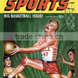 Big Book Sports: Big Basketball Issue. 20x30 poster