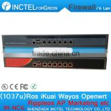 The Latest Dual Core Machine 1037u Routing Software Flow Control RIPPLEOS Openwrt Firewall
