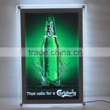 Low energy consumption advertising led panel frameless display light box slim led light sign