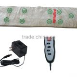 9-Motor Full Body Massage Mat with Heat Faux Sheep Skin