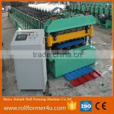 double layer roll forming machine roof tile makinbg machine metal roofing machine for sale