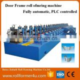 2016 hot sale Door Frame Gate/ Frame garage door Roll Forming Machine/Steel Metal Door And Window Frame roll forming machine