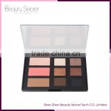 9 colors nude eyeshadow palette Mineral Baked Eye Shadow Neutral Nudes Warm Eyeshadow Palette