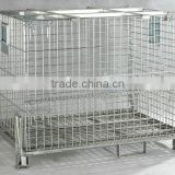 galvanized wire mesh container with decking
