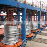 stainless steel bright on-line annealing furnace/stainless steel wire production machine