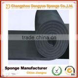 freezer waterproof soundproof heat resistant insulation closed cell adhesive backed rubber sheet