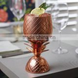 Pineapple made of Solid Pure Copper for Drink ware and Vodka Cocktails and Moscow Mule Brand Promotion