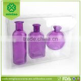 wholesale cheap colored glass vases