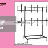 Mobile Television Screen Video Wall Mobile TV Mount Display Stand