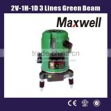 2V-1H-1D 3 Lines Green Beam Lasers