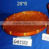 bamboo tray for fuit sweetie BASKET
