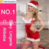 Mistress affaire christmas baby doll costume