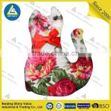 Sewing accessories type custom printing cat shaped pin cushion