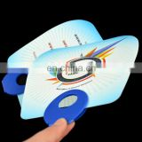 Custom Advertising O Shape Handle PP Hand Fan