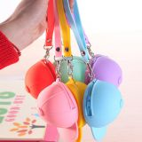 Fashion Cute Colorful Hat Silicone Coin Mini Bag
