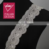 Elegant water soluble lace embroidery lace trimmings