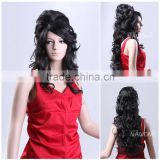 NAWOMI Wig 100% Japan's hair Wig Female Long Wave Wig Hight Quality Short Long Curly Natural Black Full Wigs