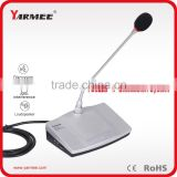 Professional wired conference microphone audio conference room equipment